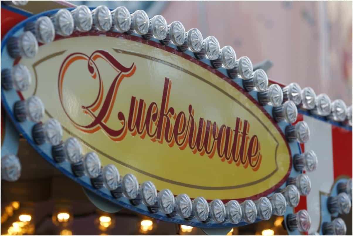 Zuckerwatte-sign